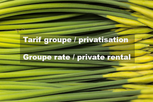 Group rate & private spa rental