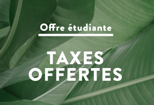 Taxes off for students !